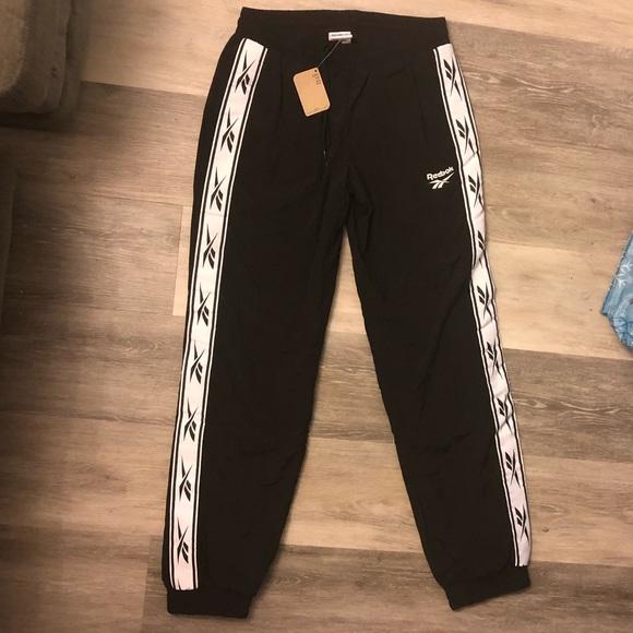7f5536563c3e9c Reebok Pants | Lf Woven Jogger Track Pant | Poshmark